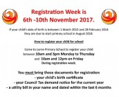 New registration image